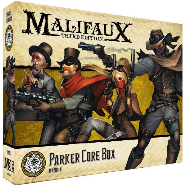 Malifaux 3e-Outcasts: Parker Core Box