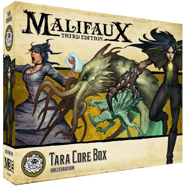 Malifaux 3e-Outcasts: Tara Core Box