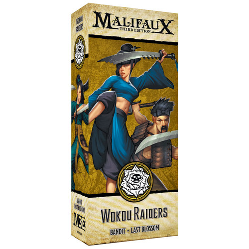 Malifaux 3e-Outcasts: Wokou Raiders