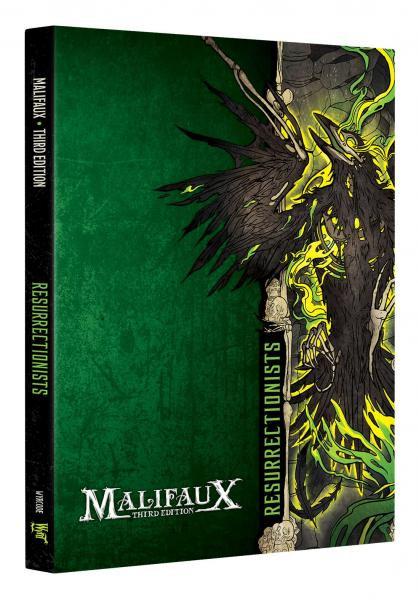 Malifaux 3e-Resurrectionists: Faction Book