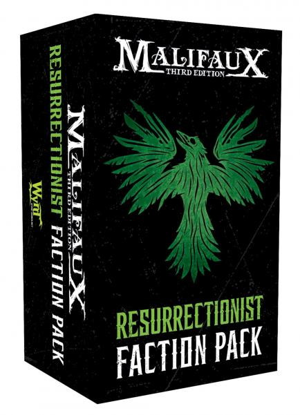 Malifaux 3e-Resurrectionists: Faction Pack