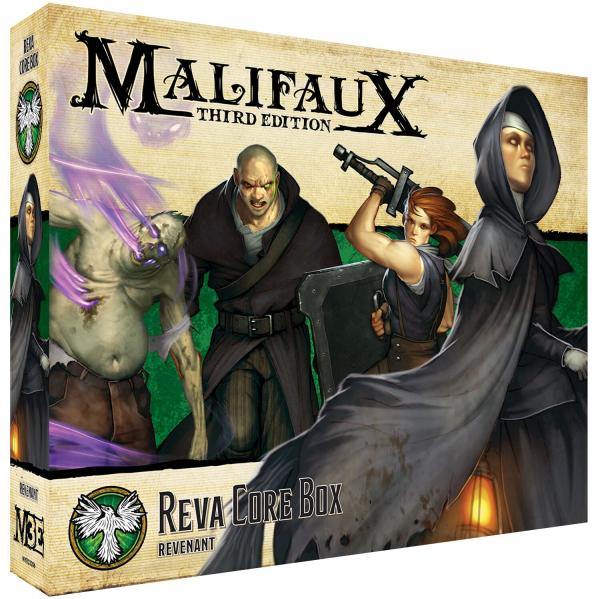 Malifaux 3e-Resurrectionists: Reva Core Box