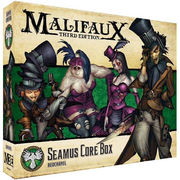 Malifaux 3e-Resurrectionists: Seamus Core Box