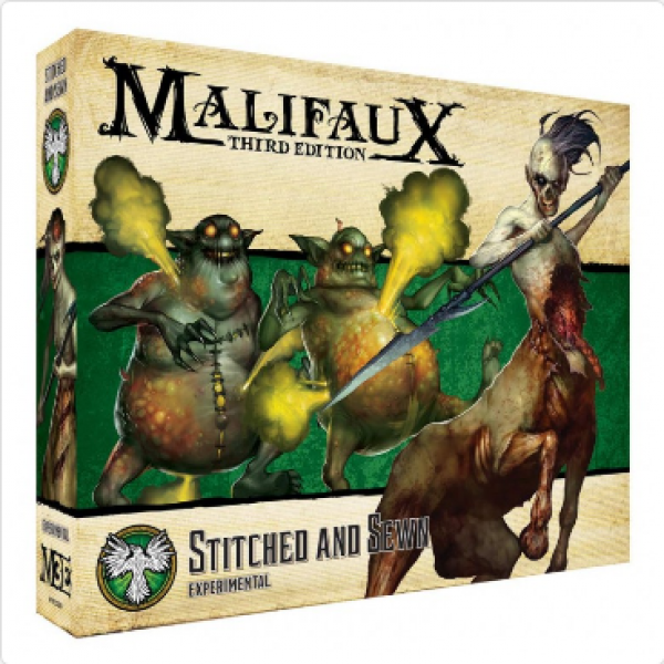 Malifaux 3e-Resurrectionists: Stitched And Sewn