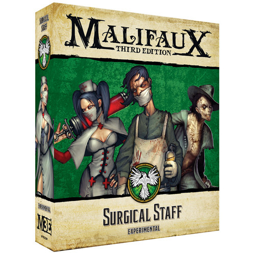 Malifaux 3e-Resurrectionists: Surgical Staff