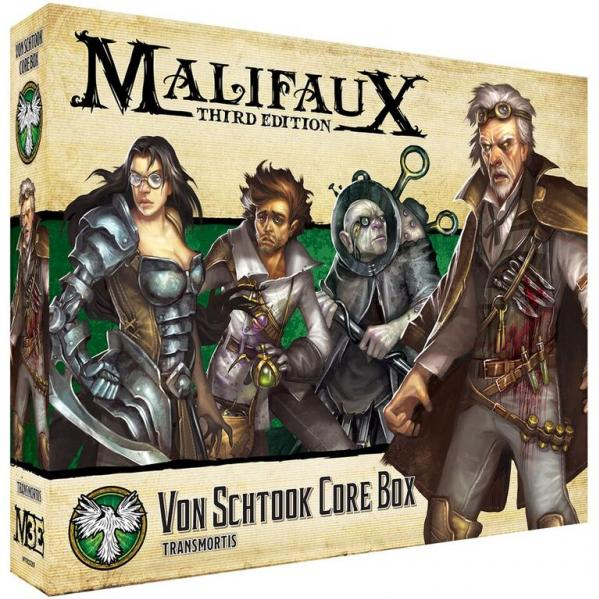 Malifaux 3e-Resurrectionists: Von Schtook Core Box