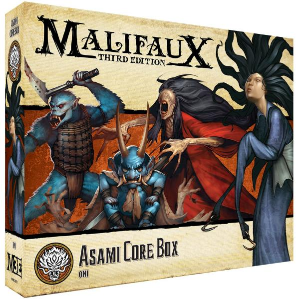 Malifaux 3e-Ten Thunders: Asami Core Box