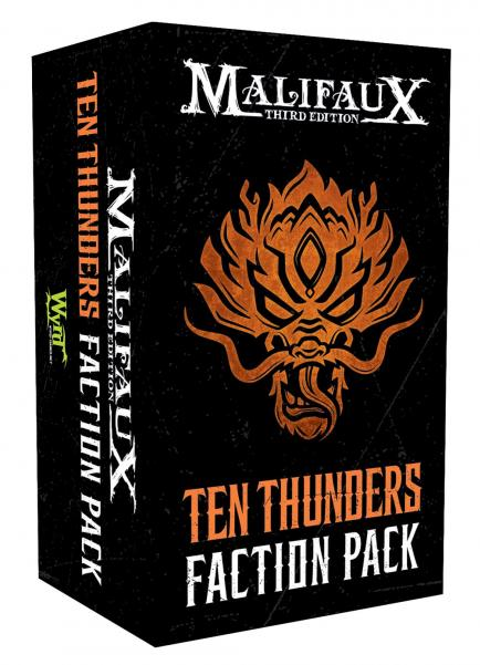 Malifaux 3e-Ten Thunders: Faction Pack