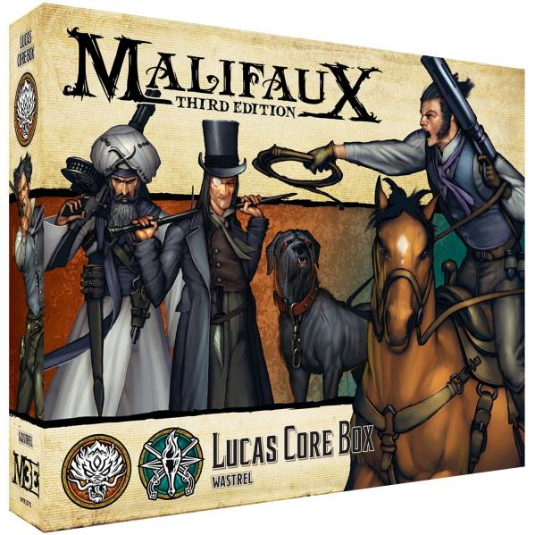 Malifaux 3e-Ten Thunders: Lucas Core Box
