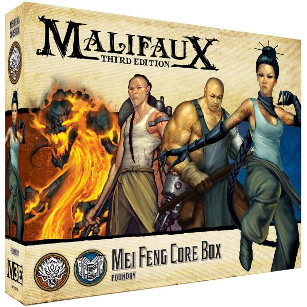 Malifaux 3e-Ten Thunders: Mei Feng Core Box