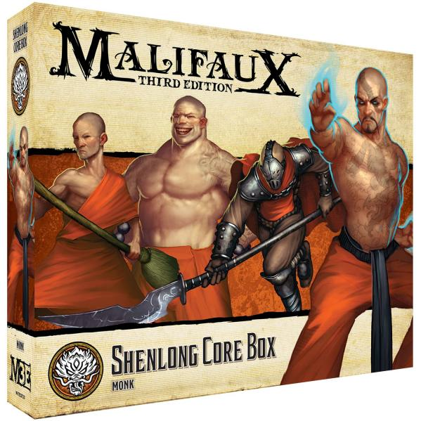 Malifaux 3e-Ten Thunders: Shenlong Core Box