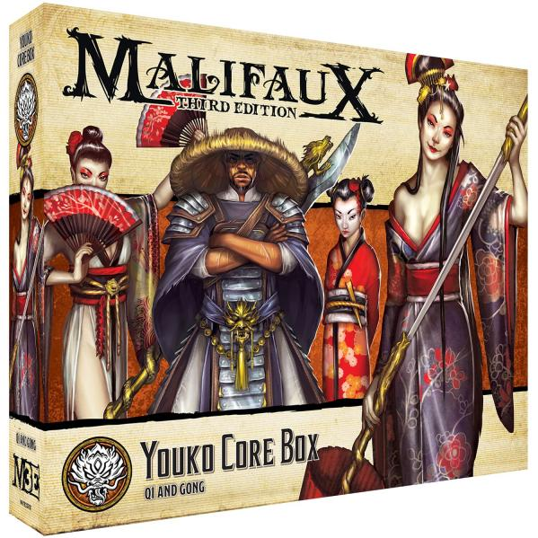 Malifaux 3e-Ten Thunders: Youko Core Box