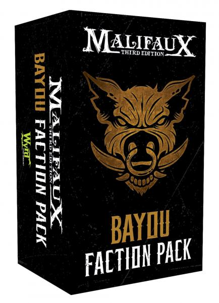 Malifaux 3e-The Bayou: Faction Pack