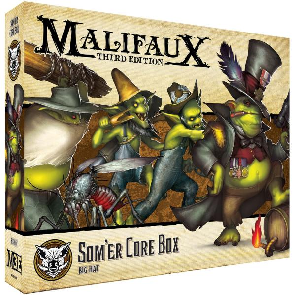 Malifaux 3e-The Bayou: Somer Core Box