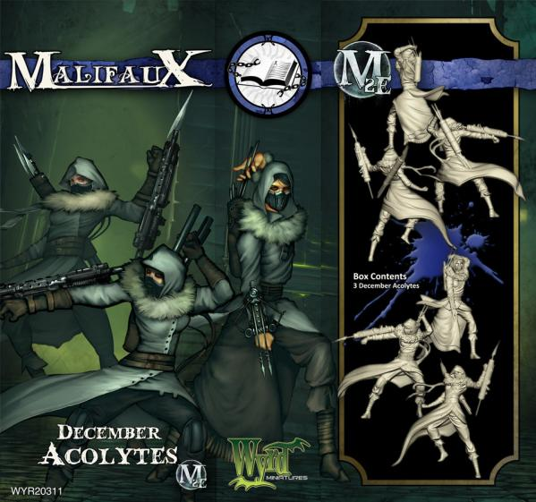 Malifaux: Arcanists: December Acolyte (Plastic)