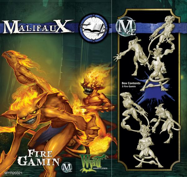 Malifaux: Arcanists: Fire Gamin (SALE)