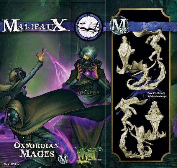 Malifaux: Arcanists: Oxfordian Mages [SALE]