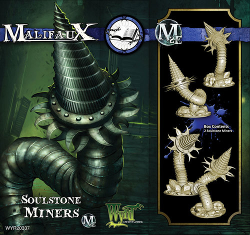 Malifaux: Arcanists: Soul Stone Miner
