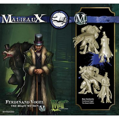 Malifaux: Arcanists: The Beast Within & Ferdinand Vogel