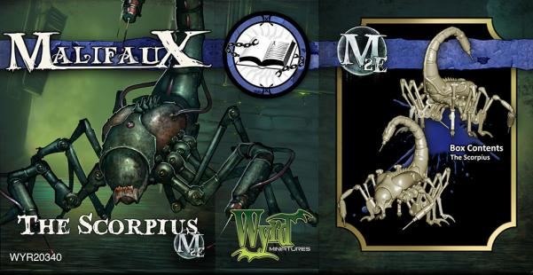 Malifaux: Arcanists: The Scorpius