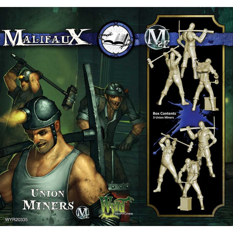 Malifaux: Arcanists: Union Miners