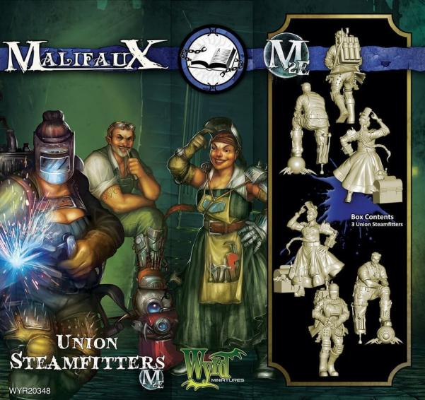 Malifaux: Arcanists: Union Steamfitters