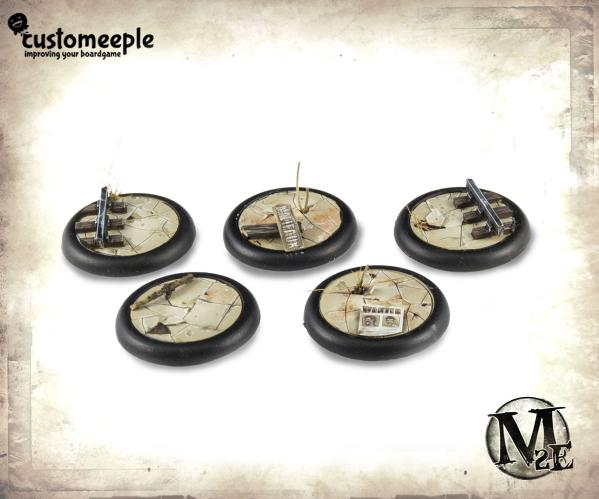 Malifaux Base Top: Nythera 30mm (5)