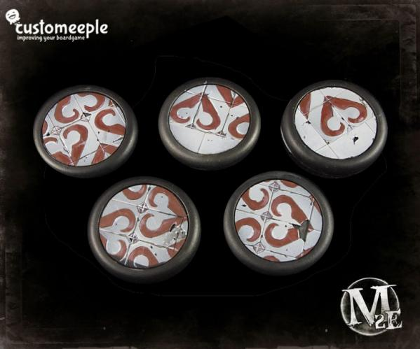 Malifaux Base Top: The Guild 50mm (2)