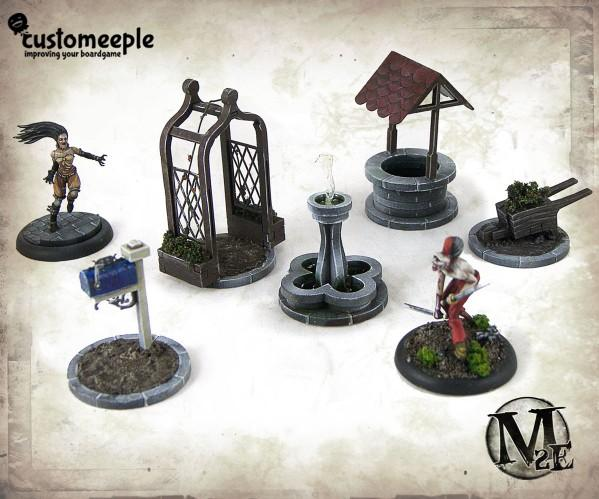 Malifaux: Dollhouse Objective Markers