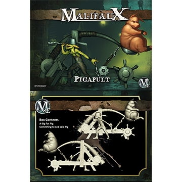 Malifaux: Gremlin: Pigapult (M2E)