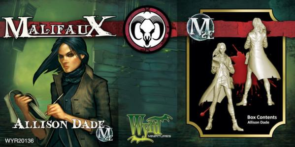 Malifaux: Guild: Allison Dade