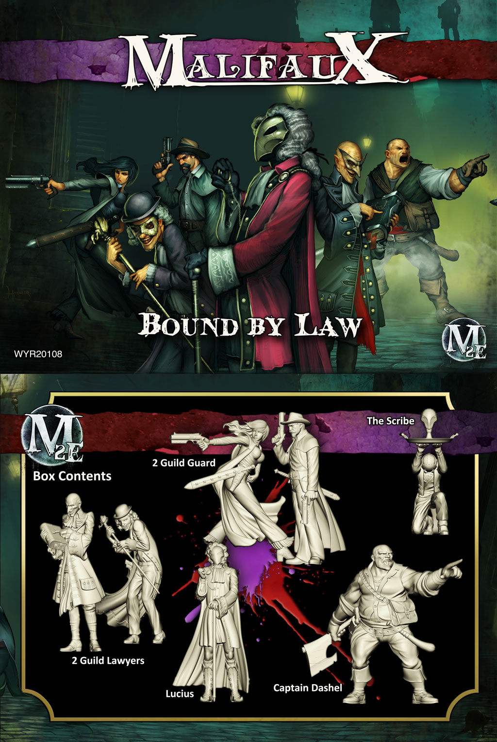 Malifaux: Guild: Bound by Law