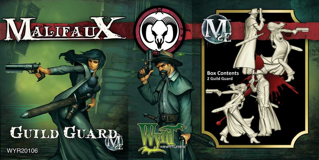 Malifaux: Guild: Guild Guard