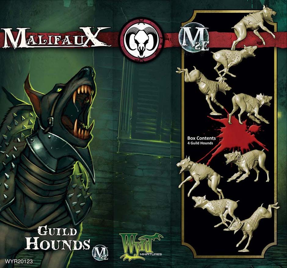 Malifaux: Guild: Guild Hounds