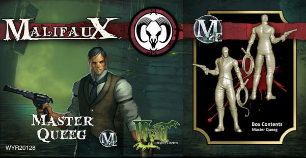 Malifaux: Guild: Master Queeg