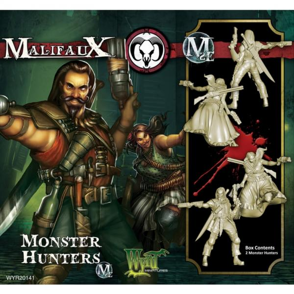 Malifaux: Guild: Monster Hunters