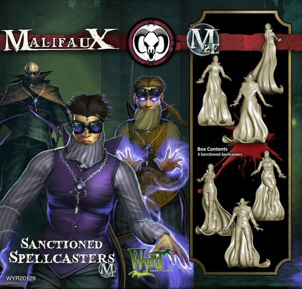 Malifaux: Guild: Sanctioned Spellcasters