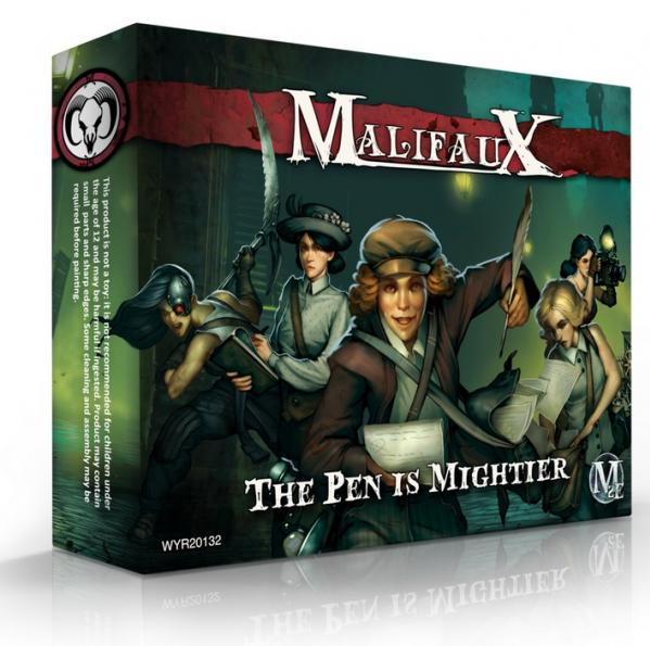 Malifaux: Guild: The Pen is Mightier