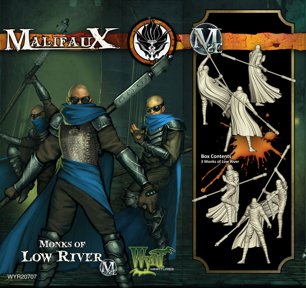 Malifaux: Ten Thunders: Monks of Low River
