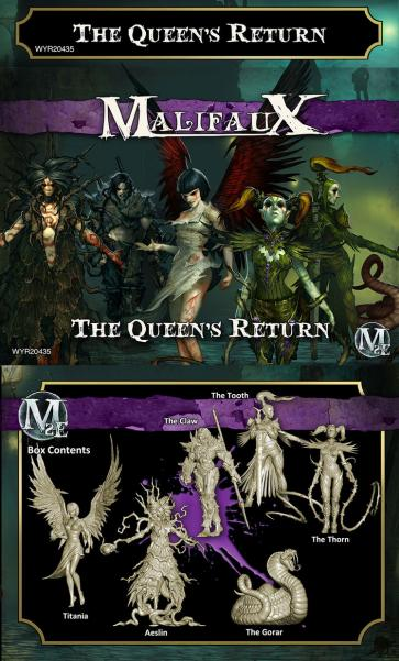Malifaux: Neverborn: The Queen's Return