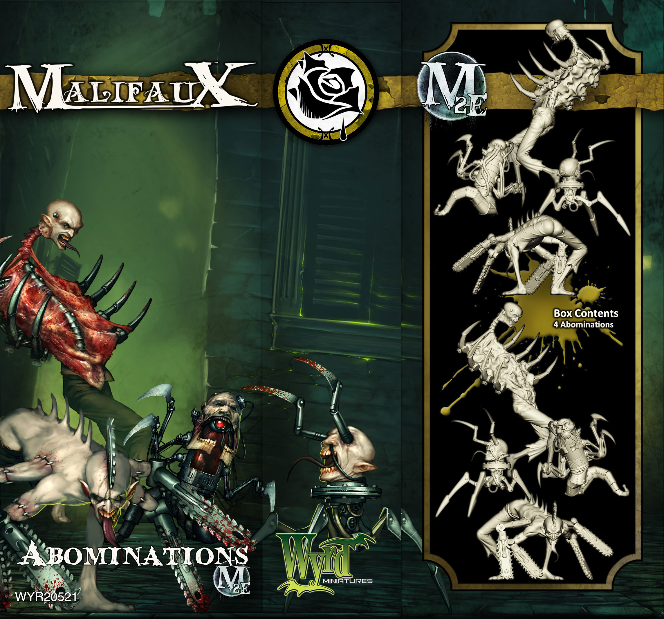 Malifaux: Outcasts: Abominations