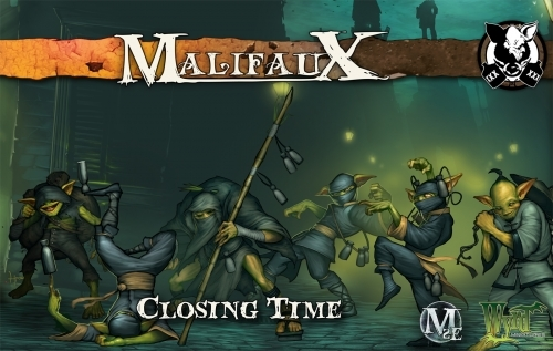 Malifaux: Gremlins: Closing Time (M2E)