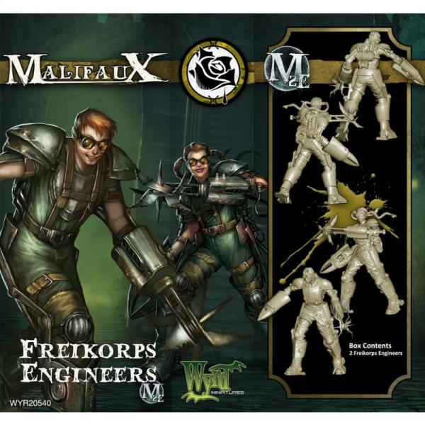 Malifaux: Outcasts: Freikorps Engineers
