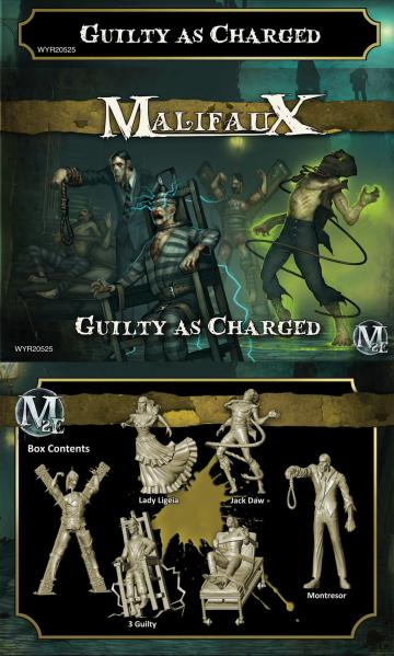 Malifaux: Outcasts: Guilty As Charged