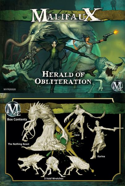 Malifaux: Outcasts: Herald of Obliteration