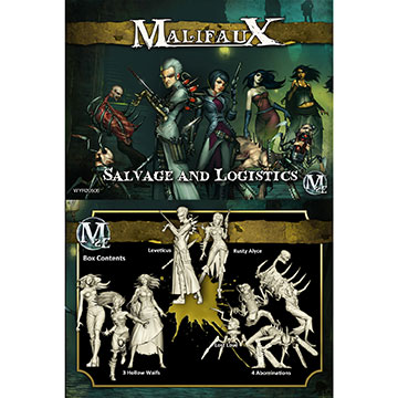 Malifaux: Outcasts: Salvage And Logistics