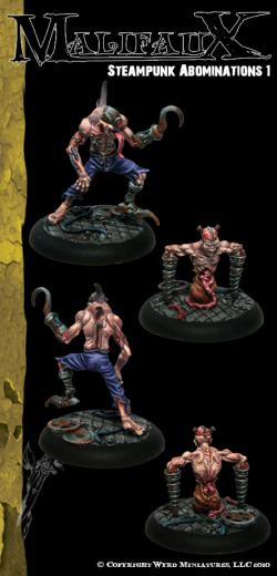 Malifaux: Outcasts: Steampunk Abominations 2 [SALE]