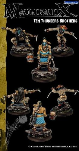 Malifaux: Outcasts: Ten Thunders Brothers [SALE]