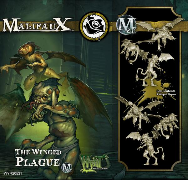 Malifaux: Outcasts: The Winged Plague