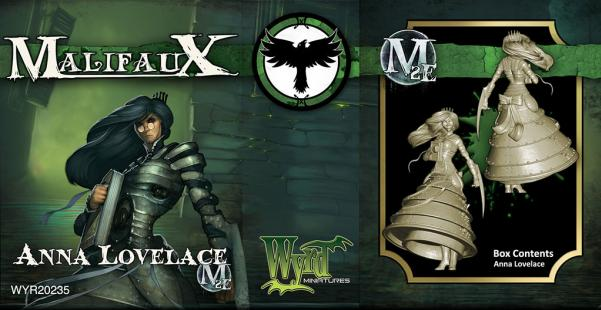 Malifaux: Resurrectionists: Anna Lovelace